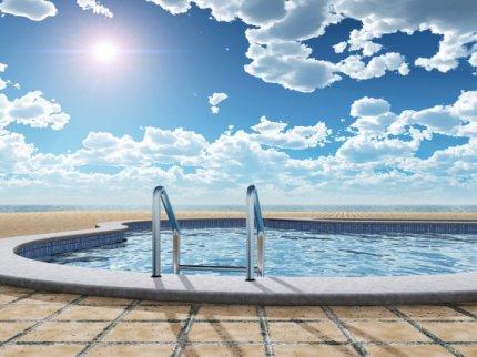 Sun Above Pool